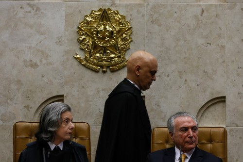 Alexandre de Moraes assume como Ministro do STF